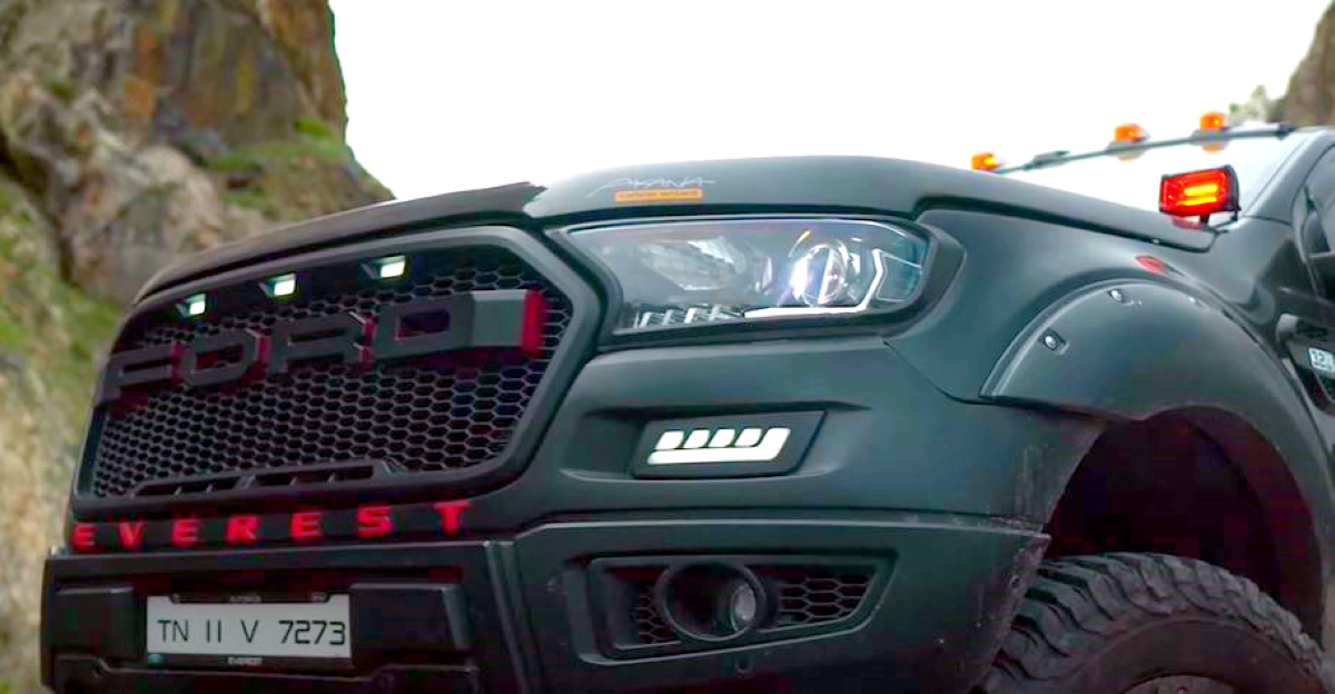 Meet 'IDUMBAN' – India's first 7 inch lifted Ford Endeavour with wild modifications [Video]