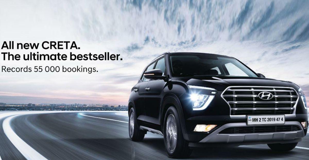 All-new Hyundai Creta records over 55,000 bookings