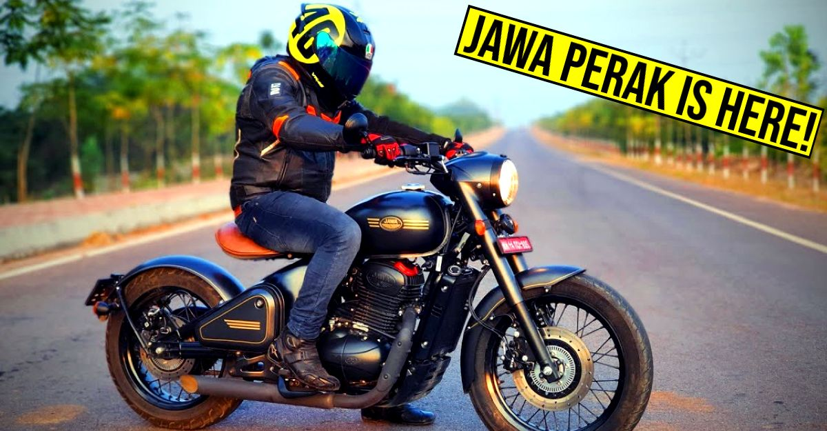 Jawa Perak sales commence in India: Test rides now open
