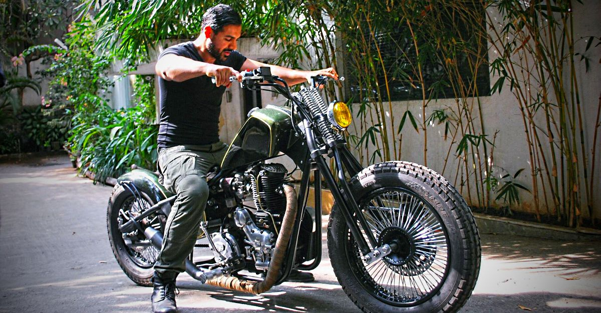 Bollywood star John Abraham's collection of all past & present bikes: Yamaha RD350 to Ducati Diavel