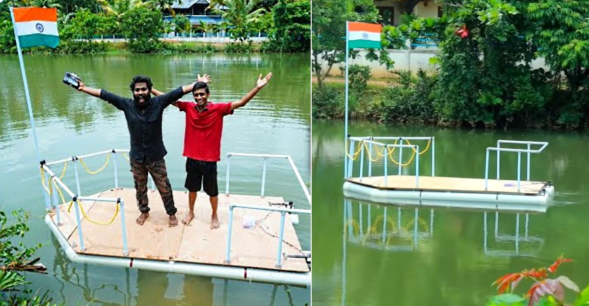 Watch AWESOME Kerala man build RC Boat at home: Probably the world's biggest [Video]