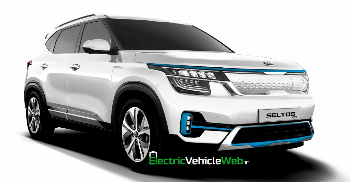 What the Kia Seltos Electric SUV could look like