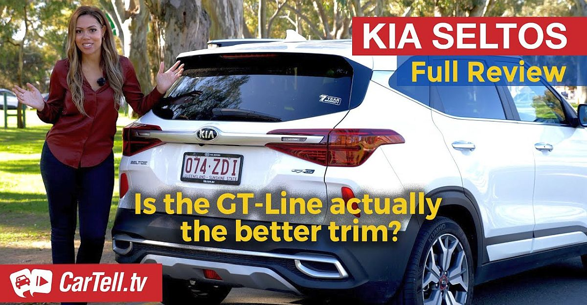 Extra Powerful Kia Seltos GT Line sold abroad: What it drives like [Video]
