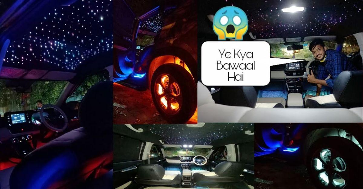 Kia Seltos with Rolls Royce-style starlit interiors [Video]