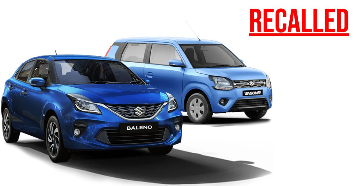 Maruti Suzuki recalls 1.35 lakh units of Baleno & WagonR for fuel pump inspection