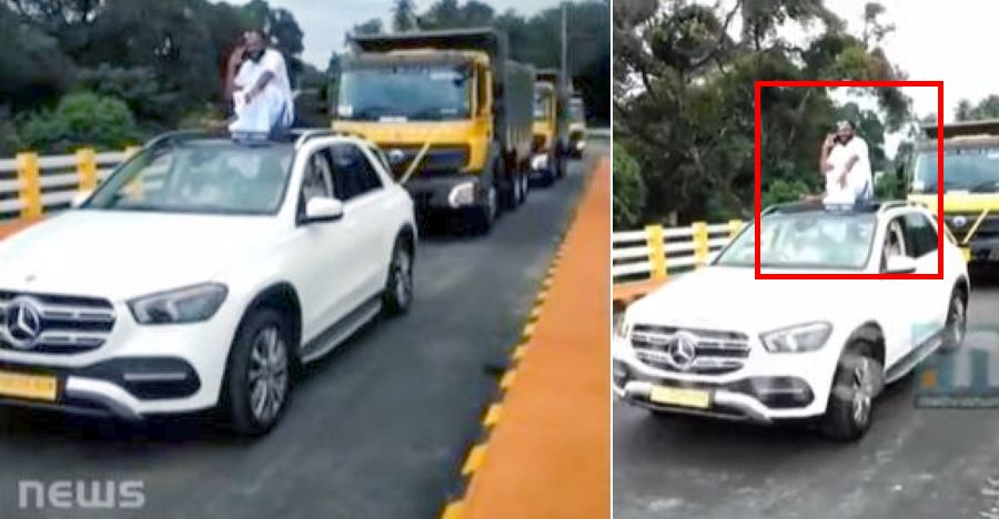Kerala businessman BUSTED for doing roadshow celebrating his Bharat Benz trucks [Video]