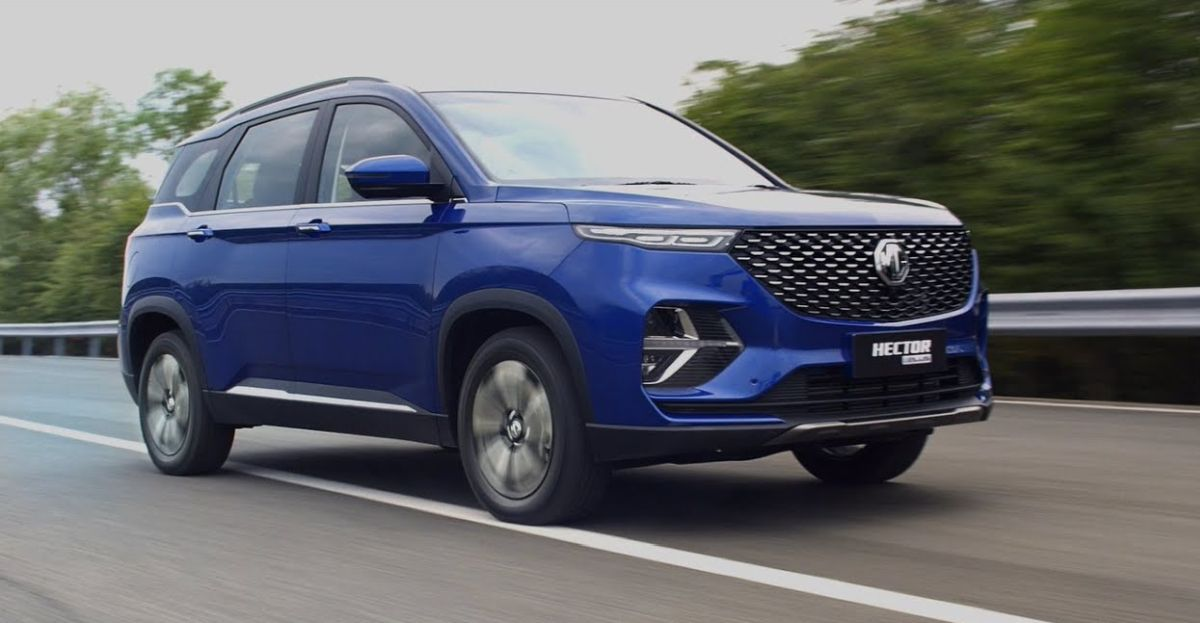 MG Hector Plus: New TVC shows the SUV's comfortable captain seats