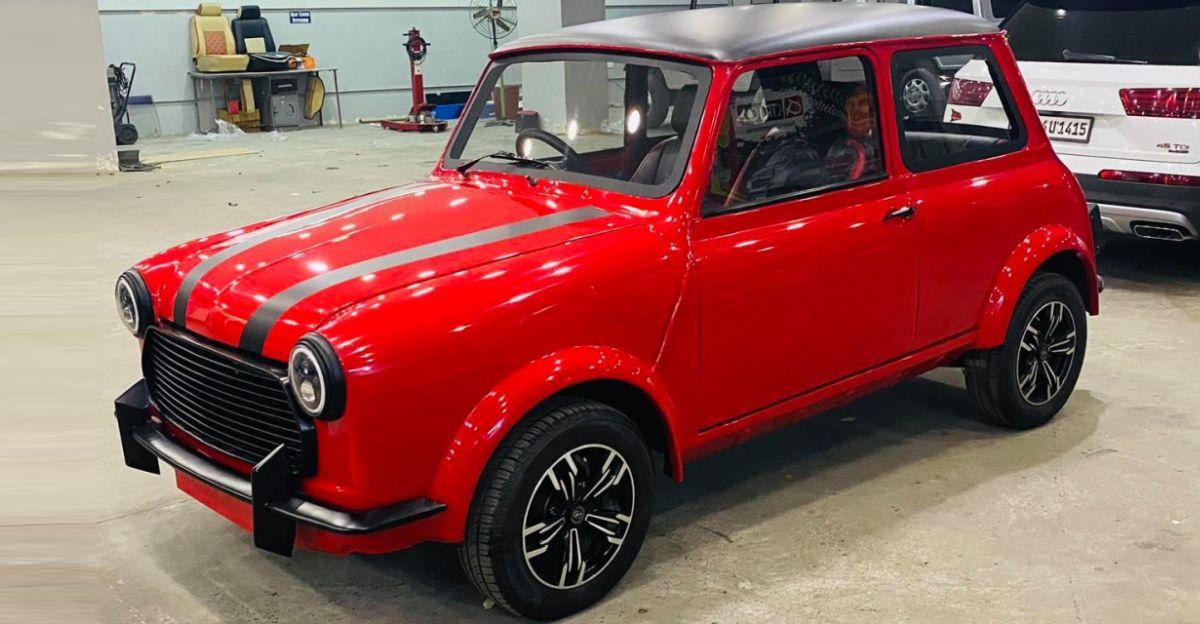 Watch a humble Premier Padmini get transformed into a Mini Cooper [Video]