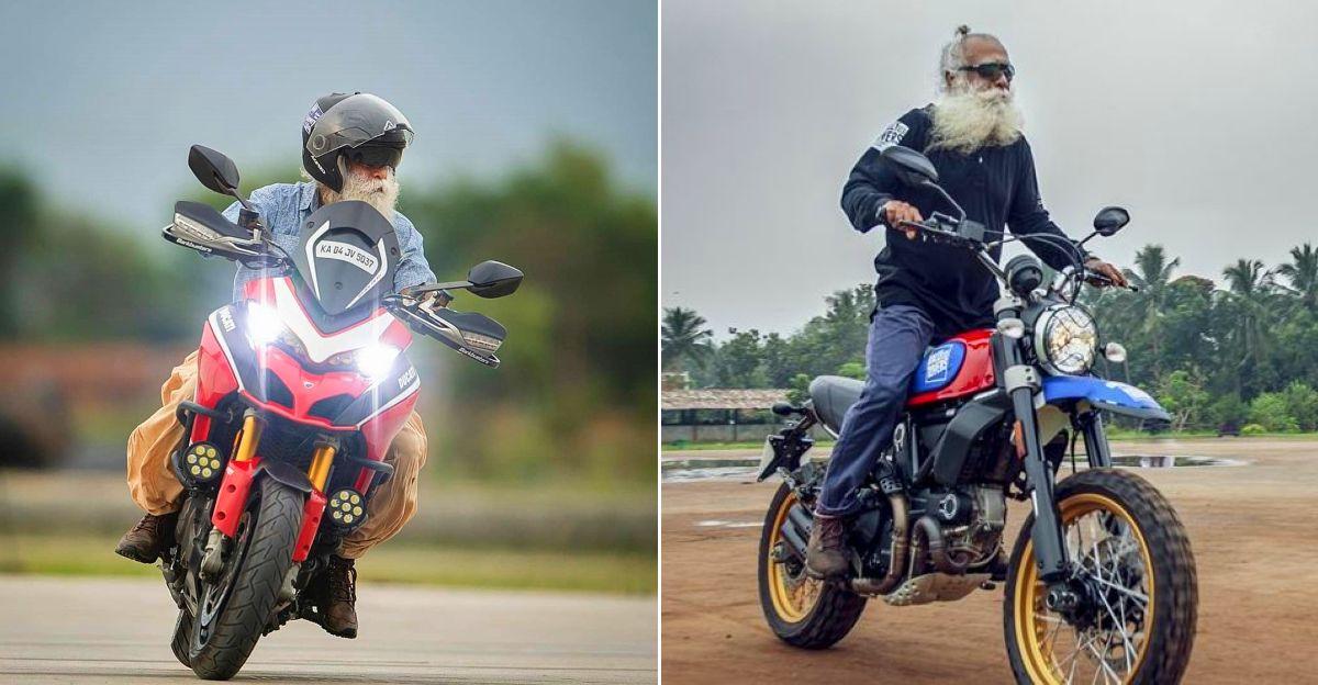 Sadhguru is India's 'Biker Baba': Here's proof