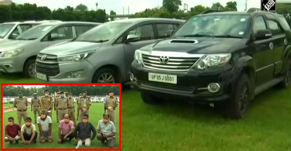 112 cars & SUVs worth Rs 11 crore recovered from MBA degree holder's gang [Video]