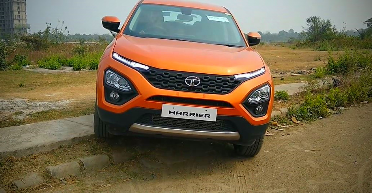 Watch the Tata Harrier tackle off road obstacles like a BOSS [Video]