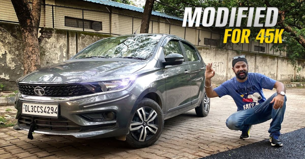 India's first Tata Tiago BS6 Facelift to be modified: This is IT [Video]