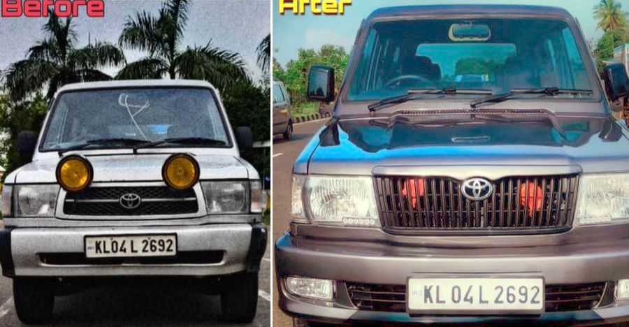 Watch an old Toyota Qualis MPV getting beautifully restored [Video]