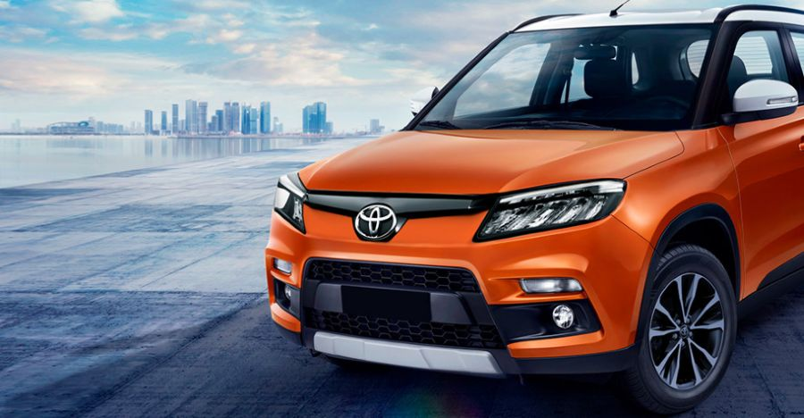 Toyota Urban Cruiser based on Maruti Brezza to be launched this month: Teaser released