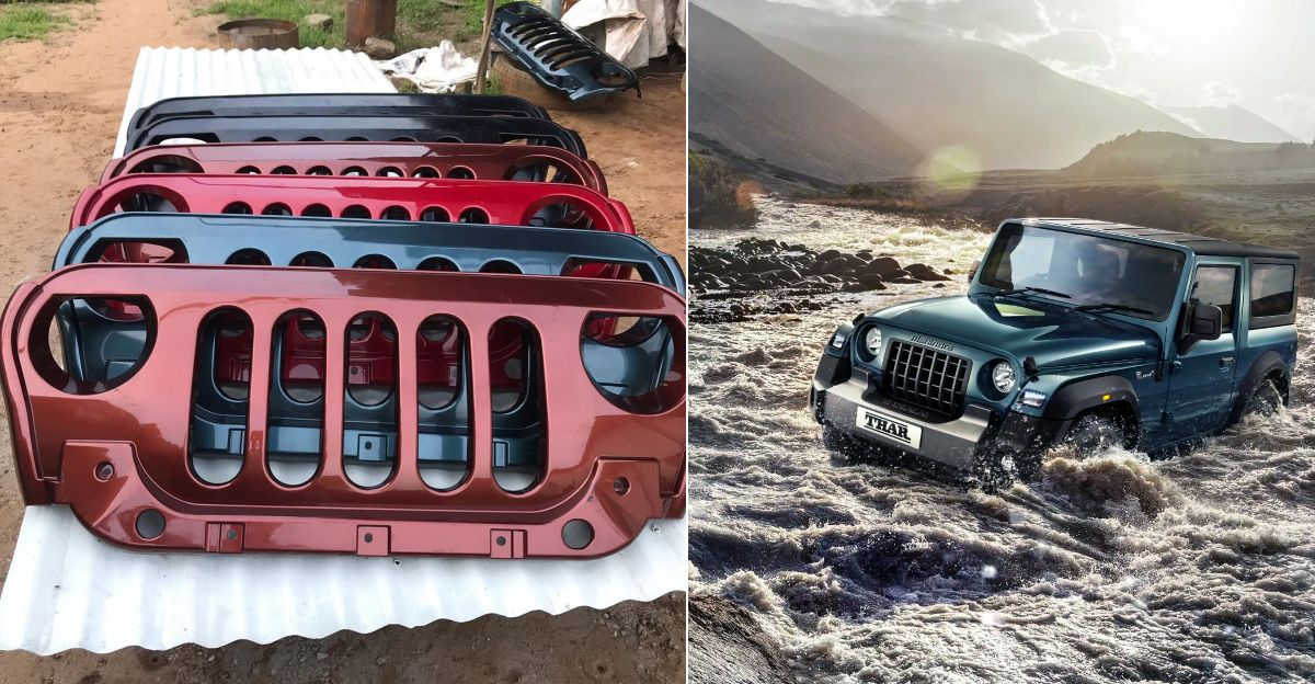 All-new Mahindra Thar aftermarket grille: Real or not? We ask the dealer