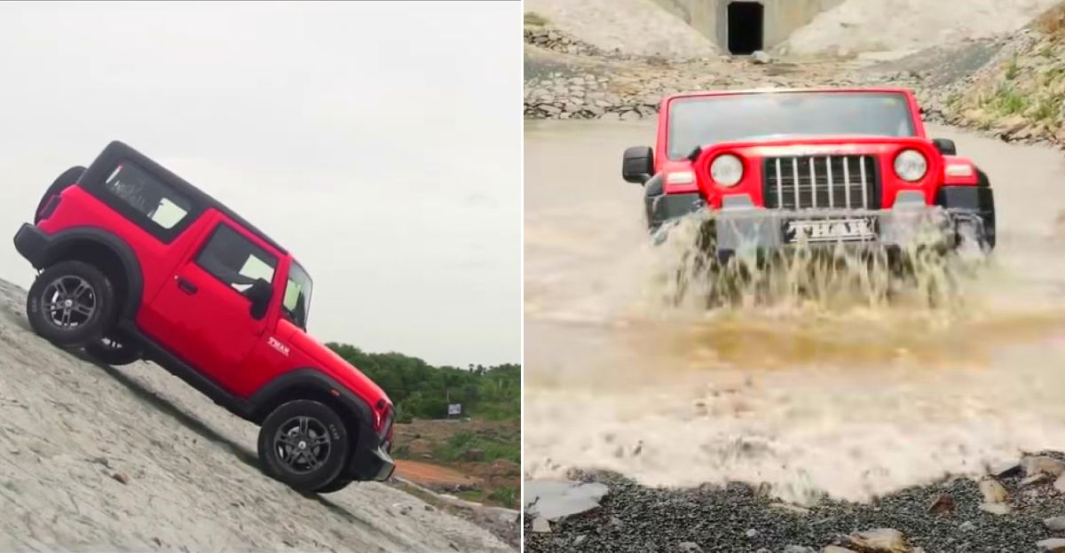 What all can the all-new Mahindra Thar do? Explained on video