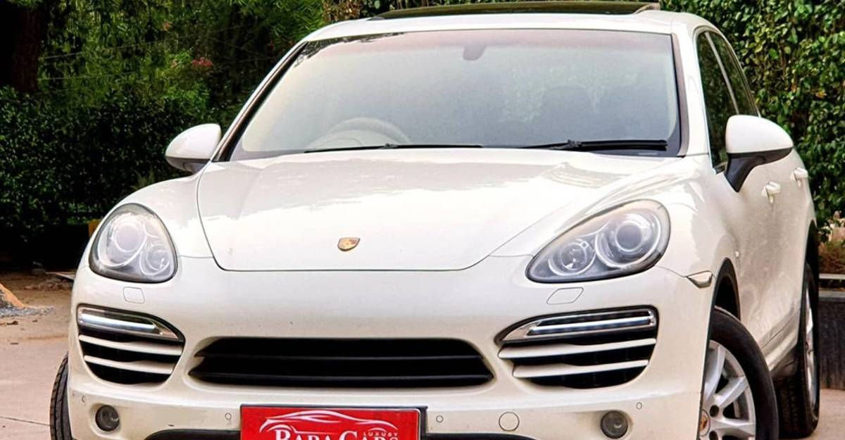 Used Porsche Cayenne selling cheaper than a Jeep Compass