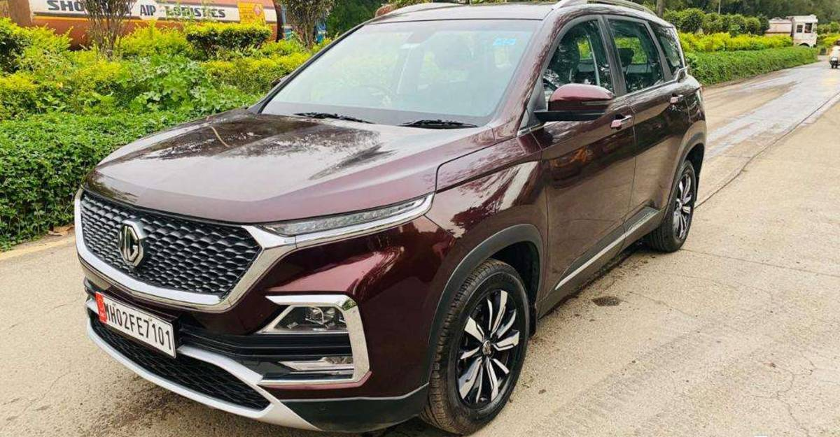 Almost-new used MG Hector SUVs for sale: Barely used and covered under warranty