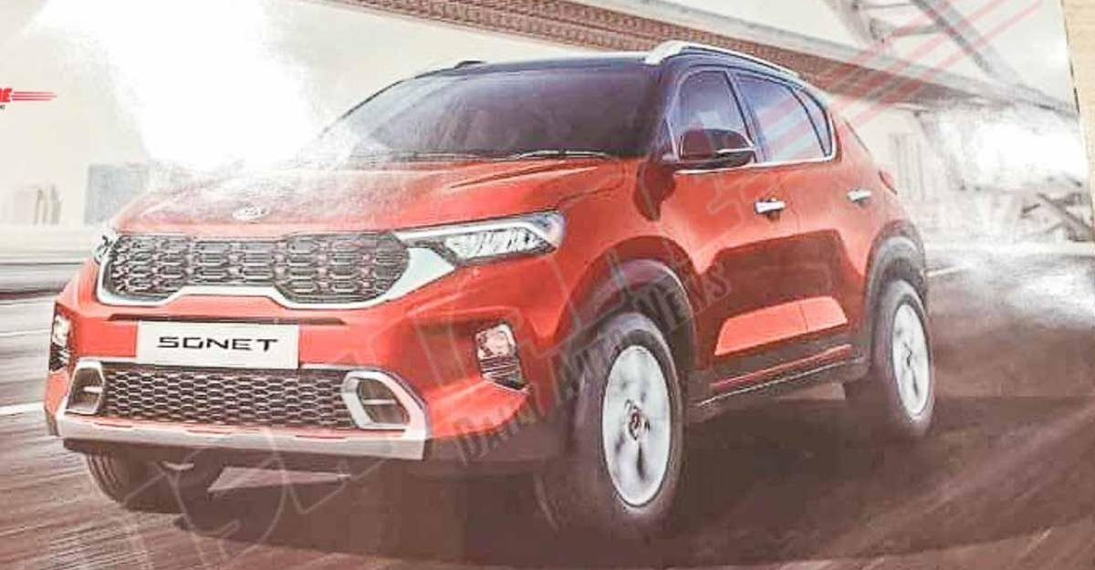 All-new Kia Sonet: Brochure leaked before official launch