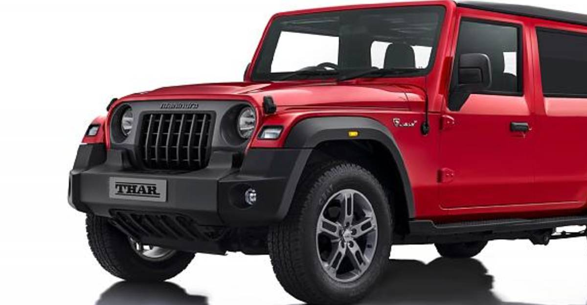 2020 Mahindra Thar five-door variant under development: What it could look like