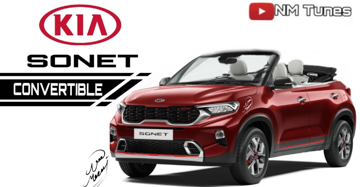 Kia Sonet convertible: What it could look like [Video]