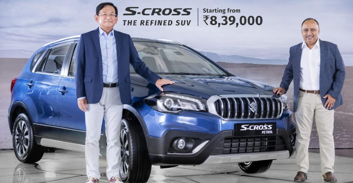 Maruti Suzuki S-Cross petrol launched: CHEAPER than before
