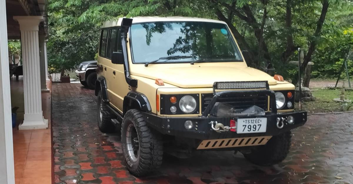 Modified Tata Sumo 4X4 is inspired by the Land Rover Defender