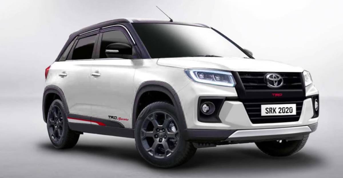 Toyota Urban Cruiser Compact Suv Trd Sportivo Edition Rendered Video