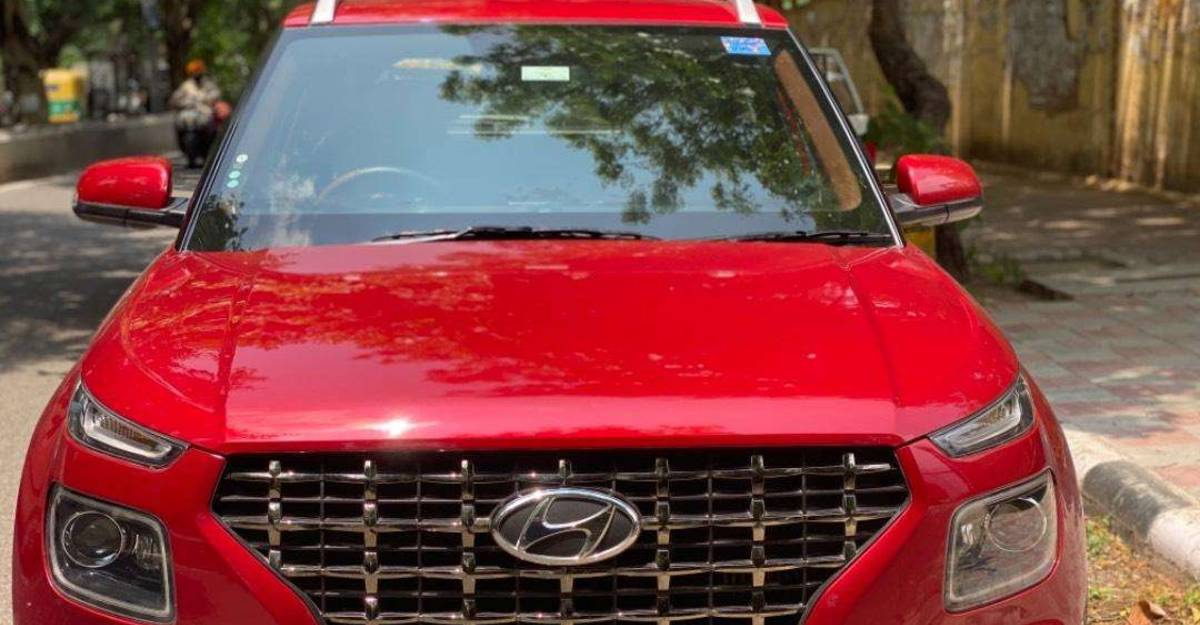 Almost-new used Hyundai Venue petrol SUVs for sale: Covered under warranty