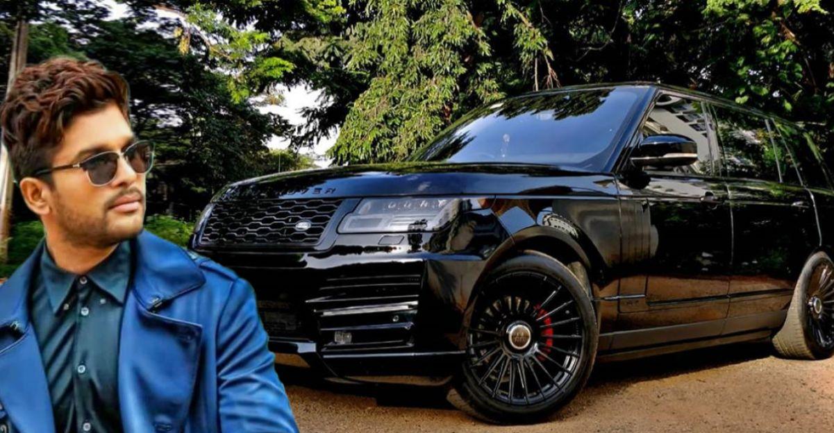 Movie star Arjun Allu modifies his multi-crore Land Rover Range Rover
