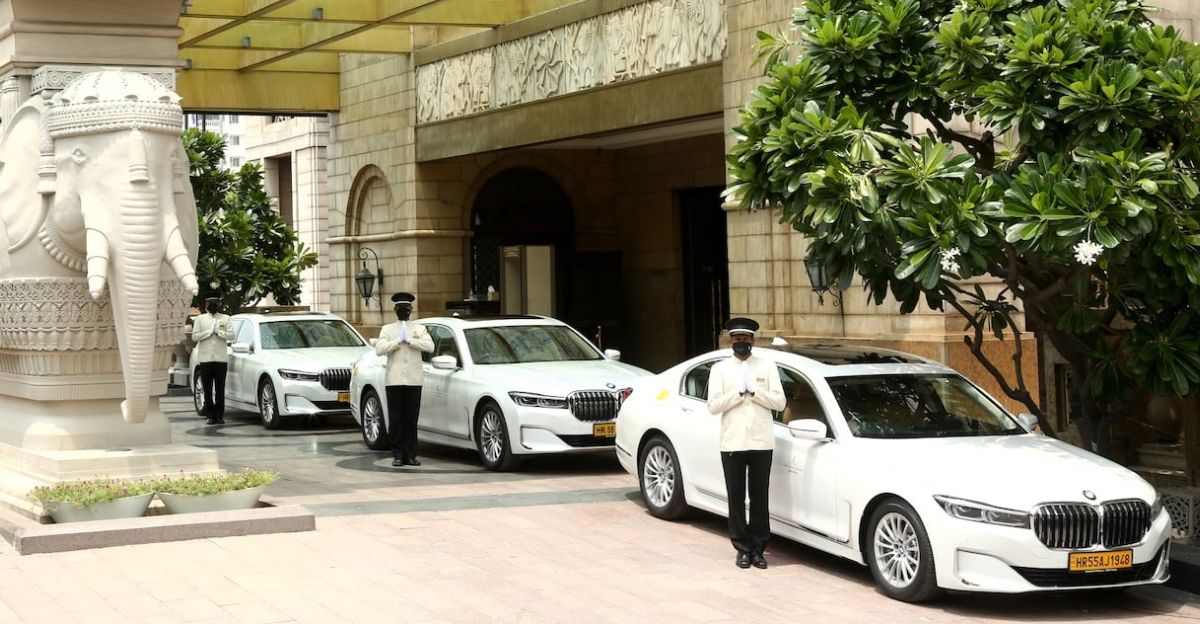 45 BMW cars and SUVs delivered to The Leela Palaces, Hotels and Resorts