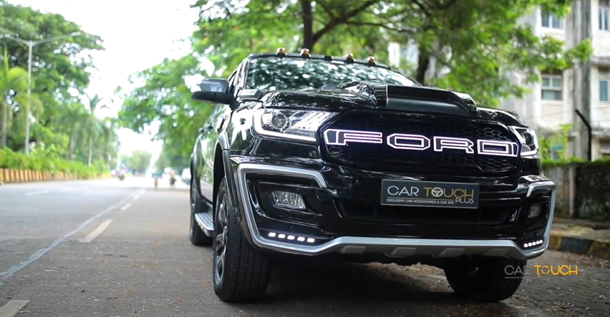 Modified Ford Endeavour SUV is a BEAST [Video]