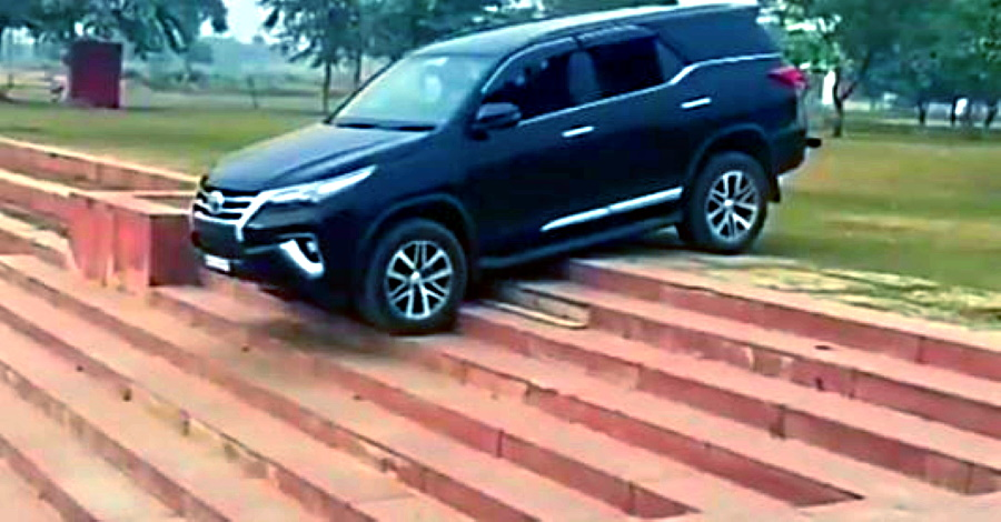 5 SUVs that make climbing stairs look so easy: Toyota Fortuner to Mahindra Thar [Video]