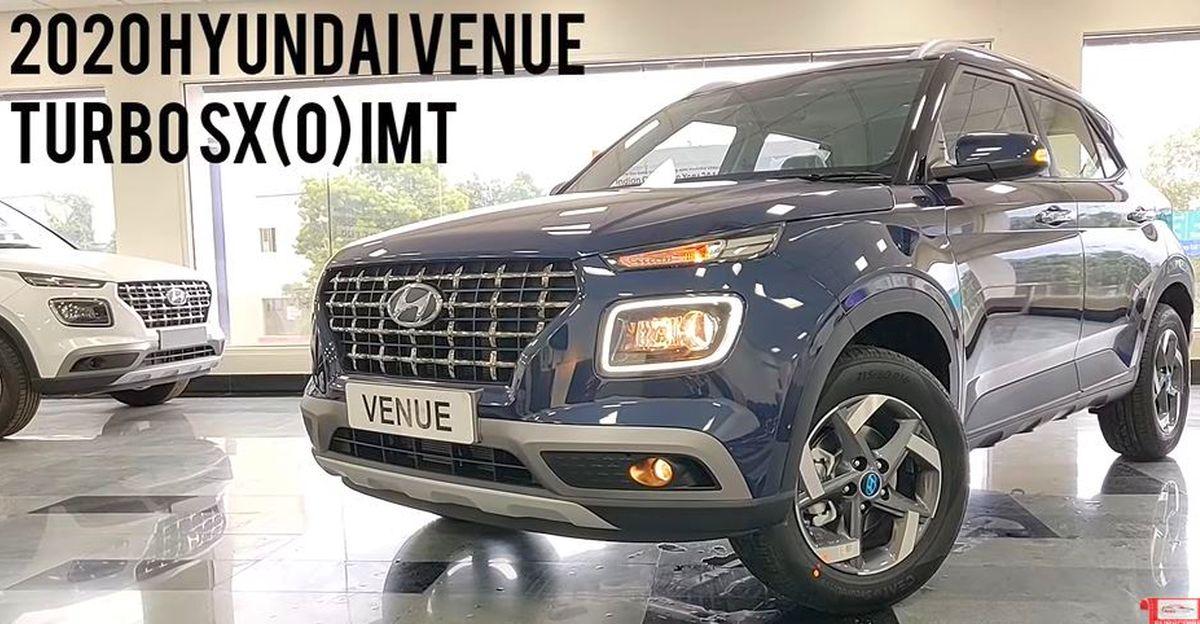 Hyundai Venue iMT: In-depth walkaround video