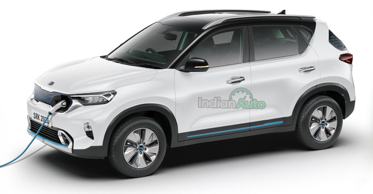 Kia Sonet Electric SUV: What it could look like