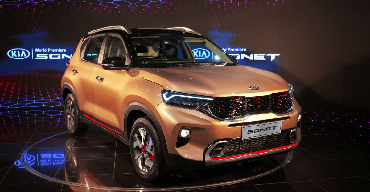 Kia Sonet: First look review and walkaround video