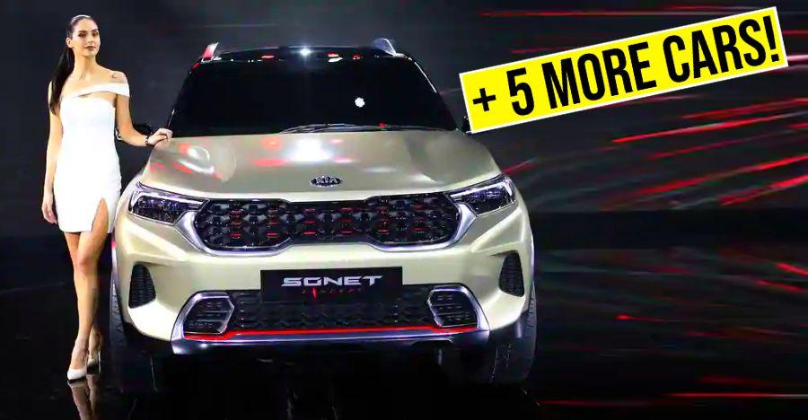 6 new cars &  SUVs launching this month: Kia Sonet to Mahindra Thar