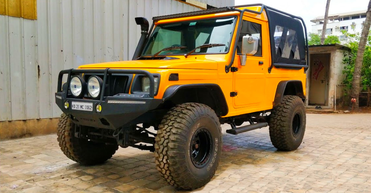Modified Mahindra Invader is a BEAST [Video]