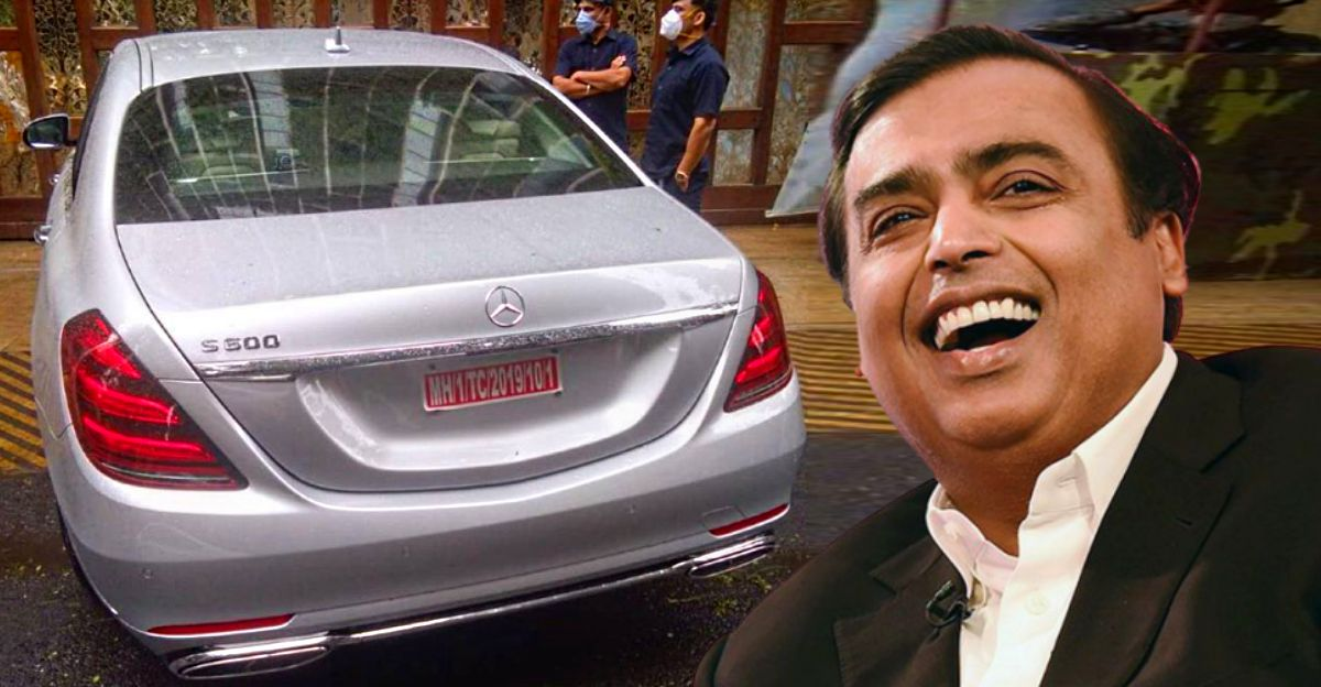 Mukesh Ambani S New Mercedes S600 Guard Is His Most Expensive Bulletproof Car
