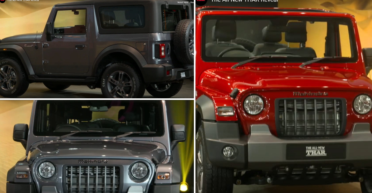 All-new Mahindra Thar unveiled: Launch in October