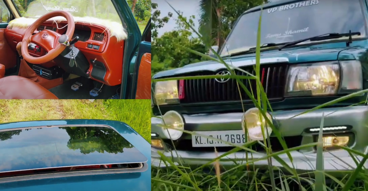 Resto-modded Toyota Qualis is a rare find [Video]
