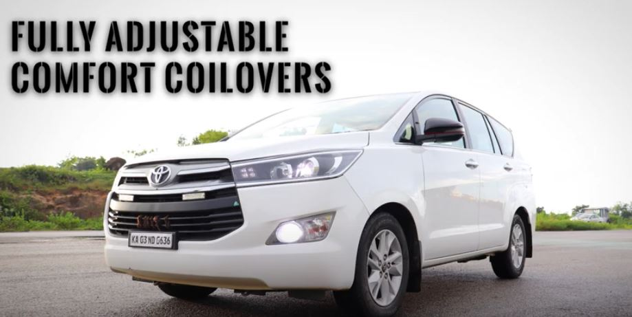 Toyota Innova gets a comfort boost with RaceConcepts' comfort suspension