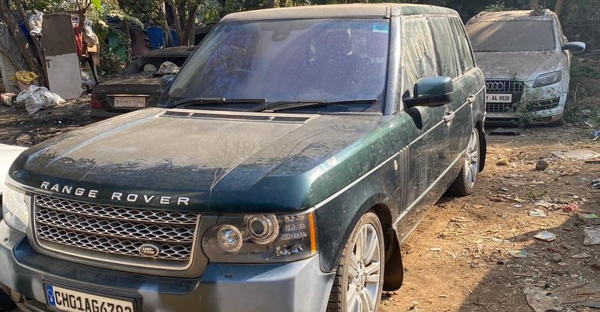Rare abandoned luxury cars & SUVs of India: Range Rover to Mercedes Benz S-Class
