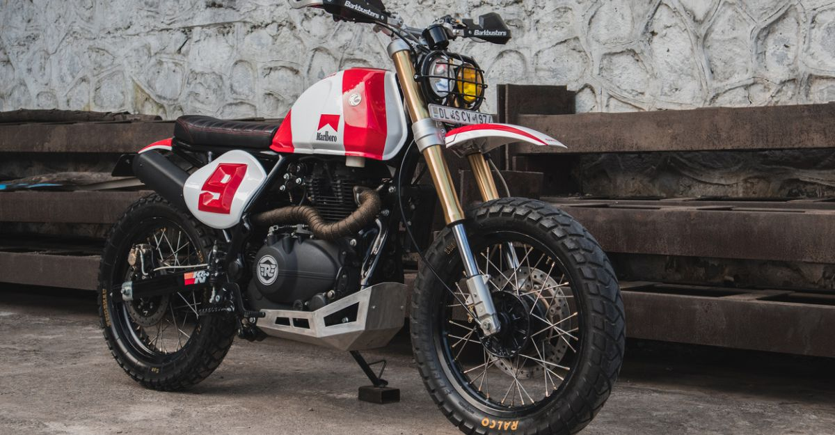 Watch how this beautifully customized Royal Enfield Himalayan motorcycle was built [video]