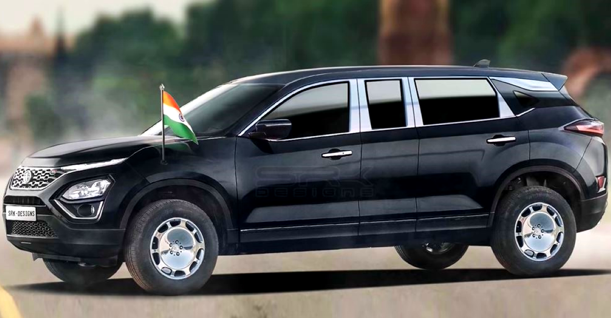 Tata Harrier Limousine Edition: What it could look like [Video]