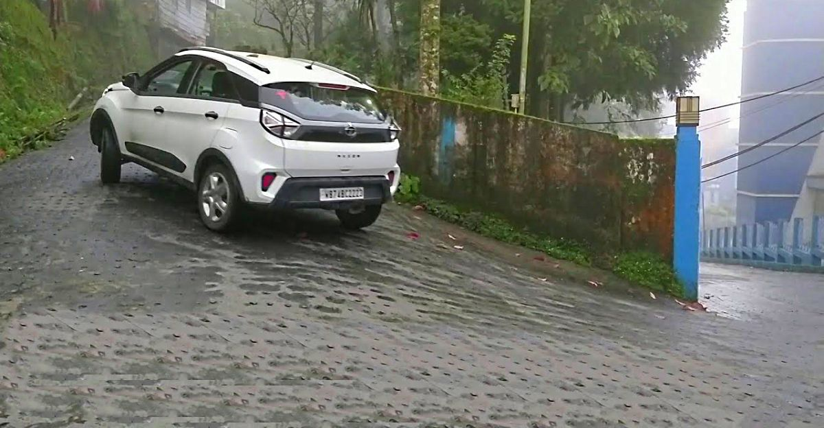 Watch the 2020 Tata Nexon's ESP and traction control in action [Video]