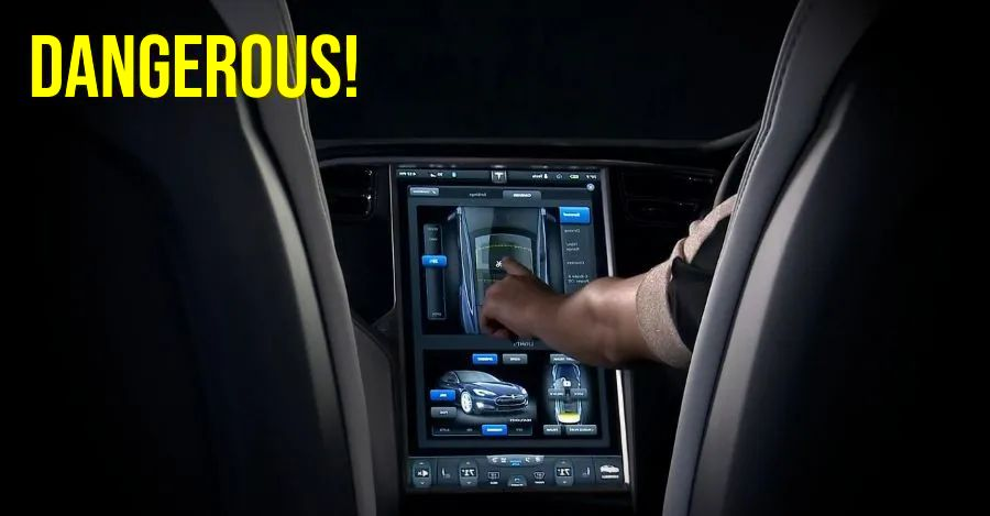 Using touchscreen while driving is more DANGEROUS than driving after drinking alcohol, says new study