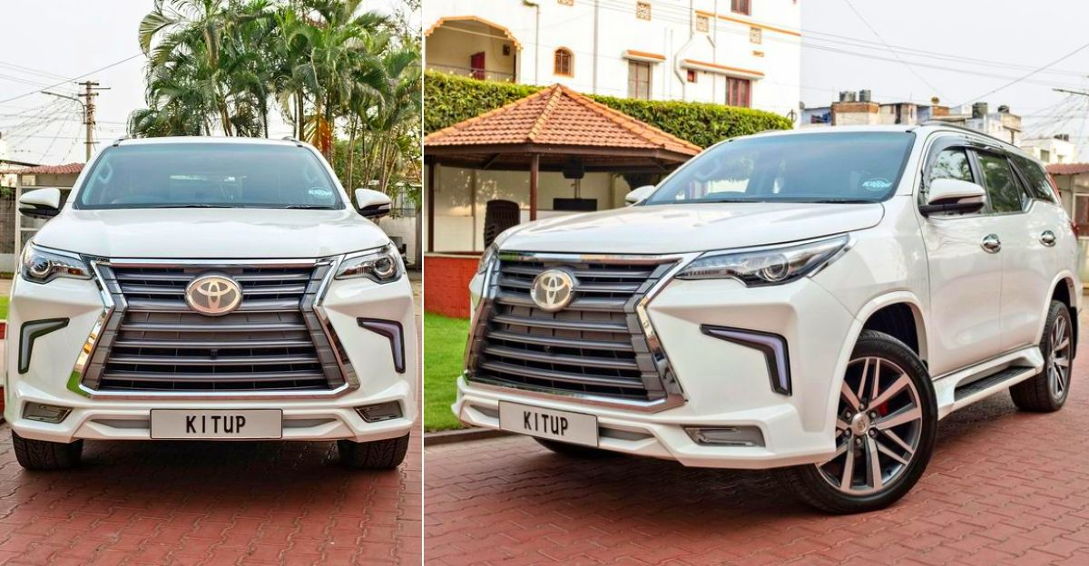 Toyota Fortuner SUV wants to be a Lexus with the Kit Up body kit