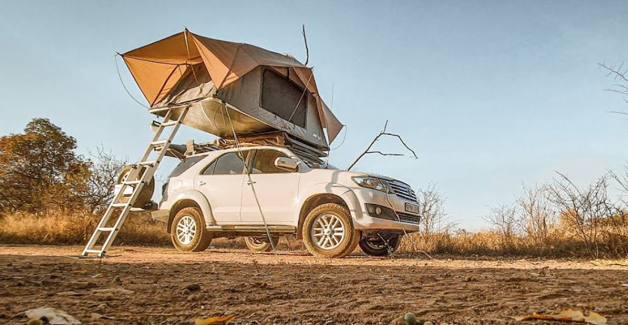 Last-generation Toyota Fortuner converted into an Overlander [Video]