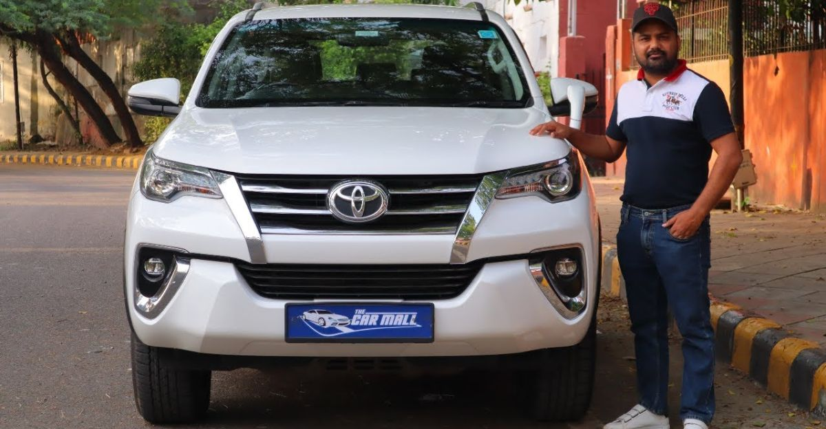 2 year old Toyota Fortuner selling Rs. 7 lakh cheaper